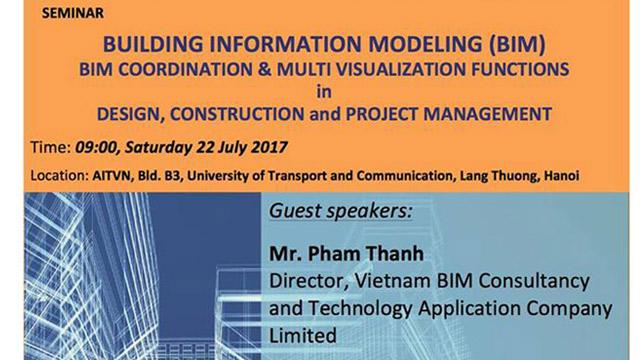 Giám đốc ViBIM tham gia chia sẻ tại Hội thảo của viện công nghệ châu Á AIT Hà Nội