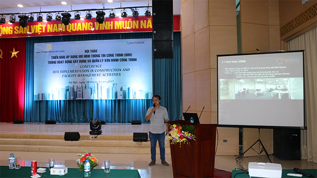 VIBIM present at Vietnam BIM Conference