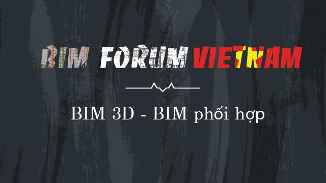 BIM 3D phối hợp