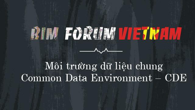 Môi trường dữ liệu chung (Common Data Environment CDE)