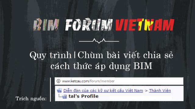 Quy trình BIM, chùm bài viết chia sẻ cách thức áp dụng BIM