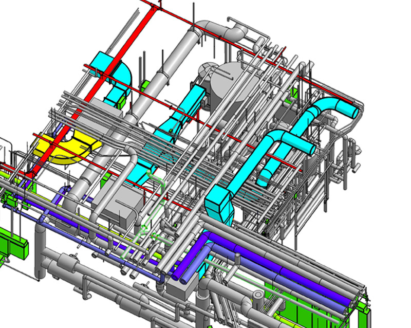 hvac modeling from 2d cad drawing