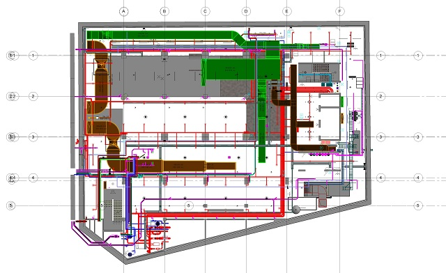 BIM coordination for Sao Thai Duong project 3