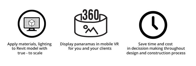 Virtual Reality workflow