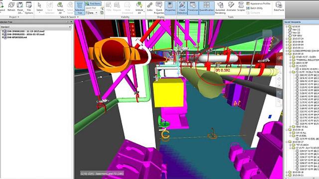 3D BIM Clash detection service
