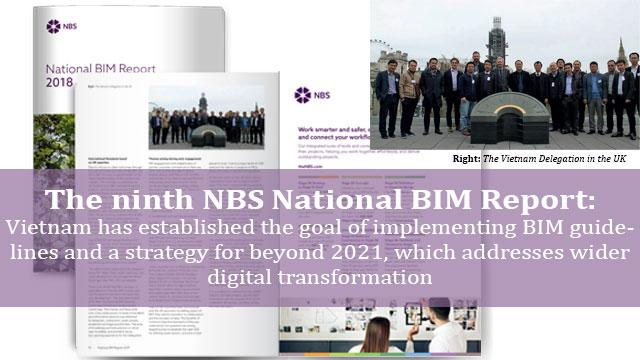 The ninth NBS National BIM Report mentioned to the visit of National BIM steering Committee of VN