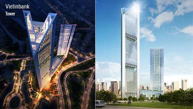 Dự án áp dụng BIM tại Việt Nam: Trung tâm Thương mại, Dịch vụ, Tài chính, Ngân hàng Ciputra
