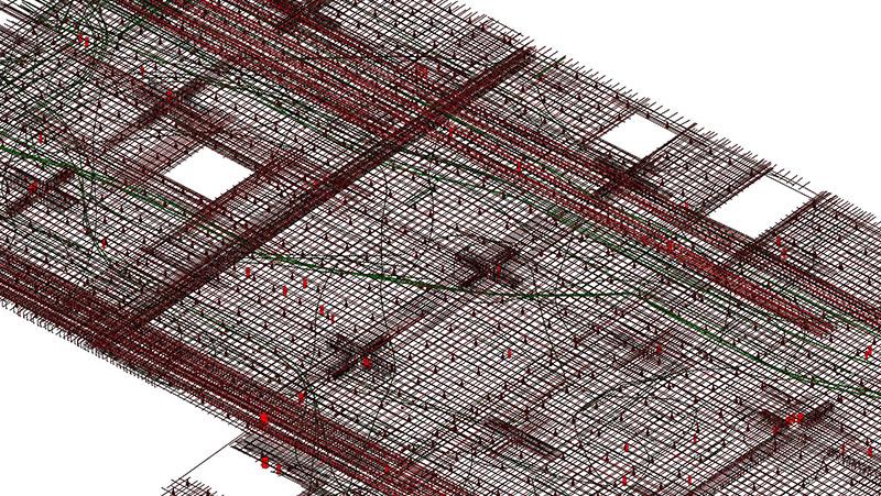 Rebar-structural modeling