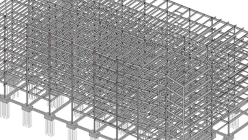 steel modelling