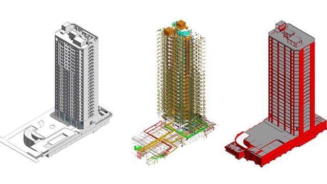 Case study for BIM application into Vinata Tower